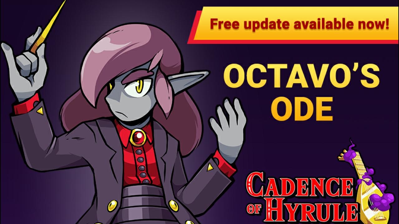 """Cadence of Hyrule – Nova atualização gratuita adiciona o """"Octavo's Ode"""", uma nova história baseada no antagonista do jogo"""