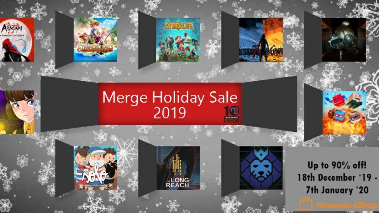 Merge Holiday Sale 2019 – Jogos da Merge Games estão com até 90% de desconto na eShop do Nintendo Switch