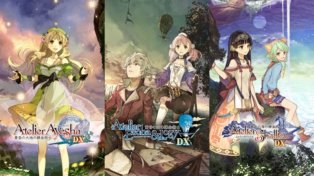 Tamanho do arquivo para diversos futuros títulos de Switch – Atelier Shallie: Alchemists of the Dusk Sea DX, Atelier Escha & Logy: Alchemists of the Dusk Sky DX, Atelier Ayesha: The Alchemist of Dusk DX e mais