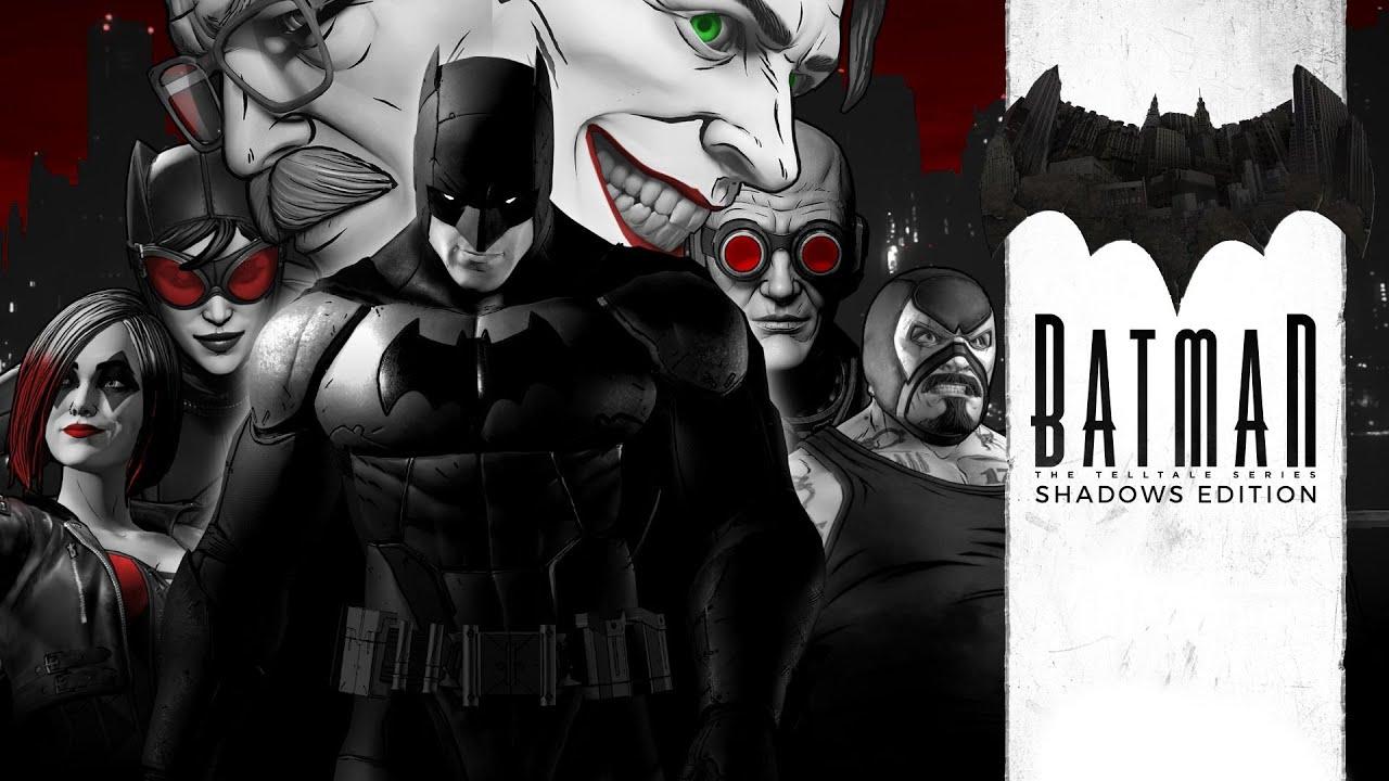 The Telltale Batman Shadows Edition é oficialmente confirmado para o Nintendo Switch; Trailer