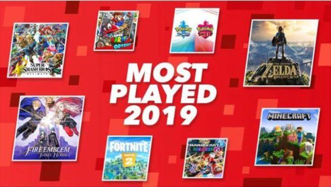 Nintendo revela os 20 jogos de Nintendo Switch mais jogos em 2019 na Europa