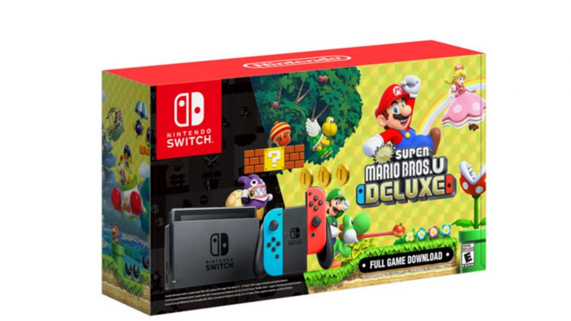 Nintendo of America lança Bundle do Nintendo Switch com New Super Mario Bros. U Deluxe no Canadá