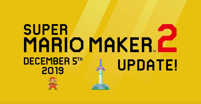 Super Mario Maker 2 – Atualização 2.0 chega está semana trazendo novos modos, novos inimigos, transformação em Link através da Master Sword e mais