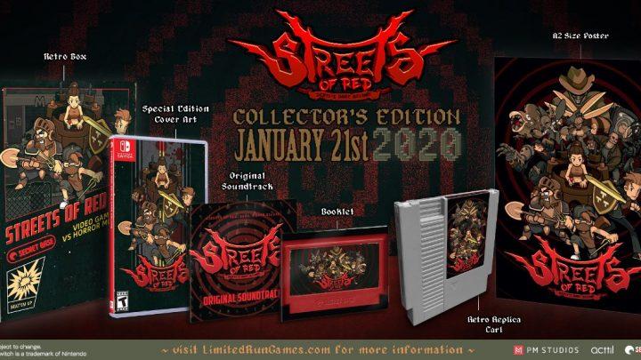 [Switch] PM Studios e Limited Run Games revelam edição física para o beat'em up Streets of Red