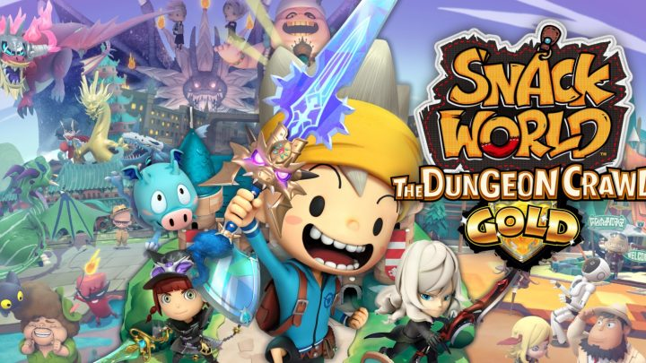 "Snack World: The Dungeon Crawl – Gold – Novo trailer ""Let's Get Looting"""