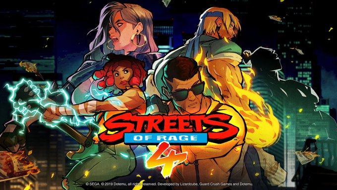 [Switch] Streets of Rage 4 terá edição física pela Limited Run Games