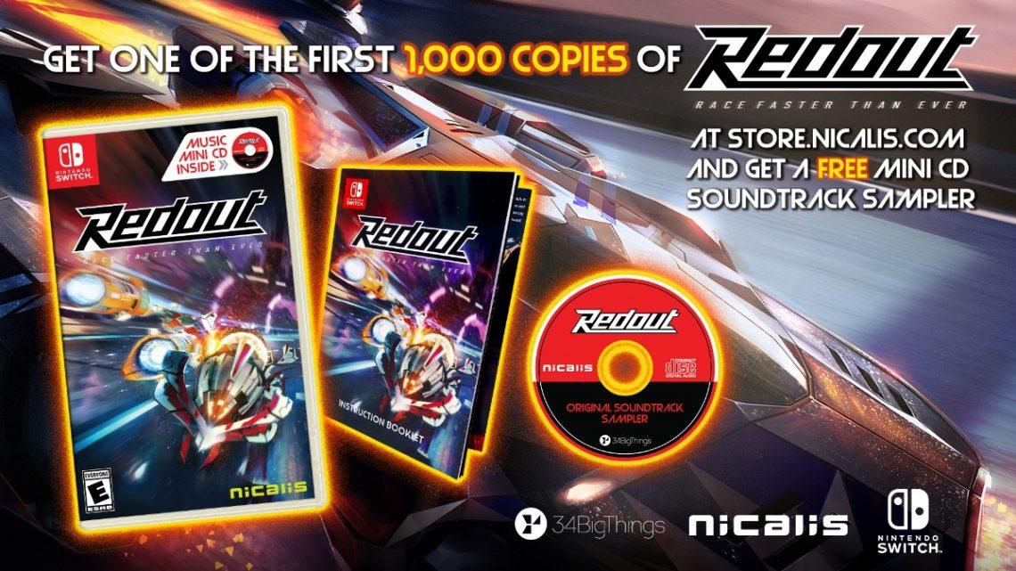 Nicalis anuncia versão física do jogo de corrida Redout para o Nintendo Switch