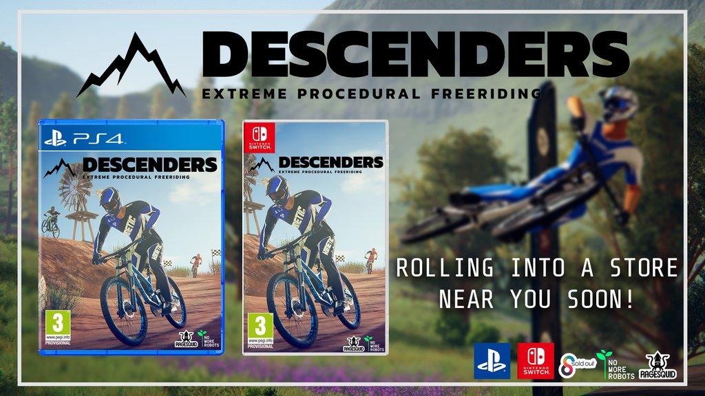 Jogo de mountain biking Descenders chega durante a primavera americana, jogo terá edição física pela Sold Out