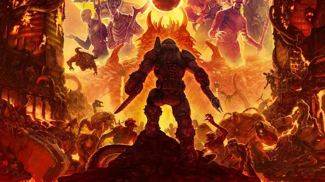 """Diretor de DOOM Eternal ja """"brincou"""" em perguntar a Nintendo sobre Doom Slayer em Super Smash Bros. Ultimate, mas que """"nunca foi a lugar nenhum"""" com isso"""
