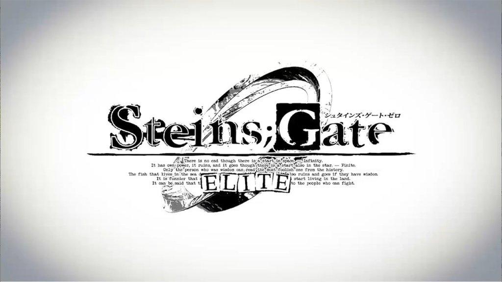 Mages anuncia a visual novel animada Steins;Gate 0 Elite para o Nintendo Switch