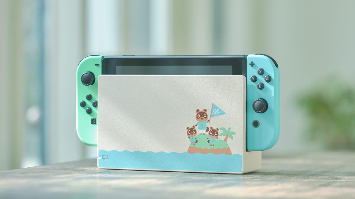 Nintendo anuncia edição especial do Nintendo Switch inspirado em Animal Crossing