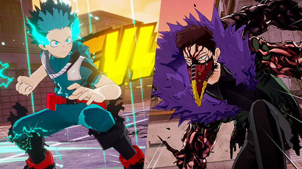 My Hero One's Justice 2 – Novo trailer com gameplay de Midoriya Full Cowling 100% Vs. Overhaul