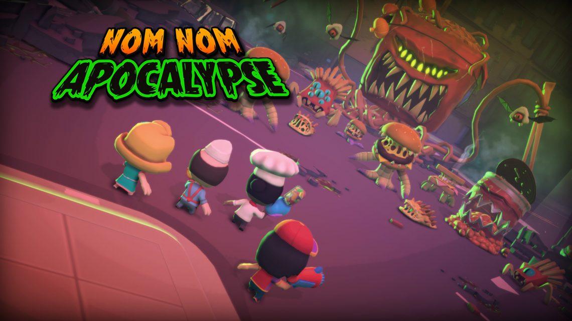 Deadleaf Games anuncia o shooter roguelite Nom Nom Apocalypse para o Nintendo Switch