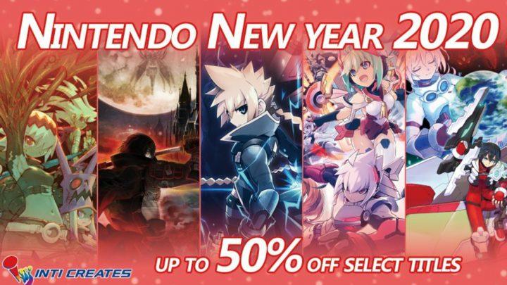 Inti Creates New Year Sale – Dragon Marked for Death, Blaster Master Zero 2, jogos de Azure Striker Gunvolt e outros jogos com até 50% de desconto na eShop