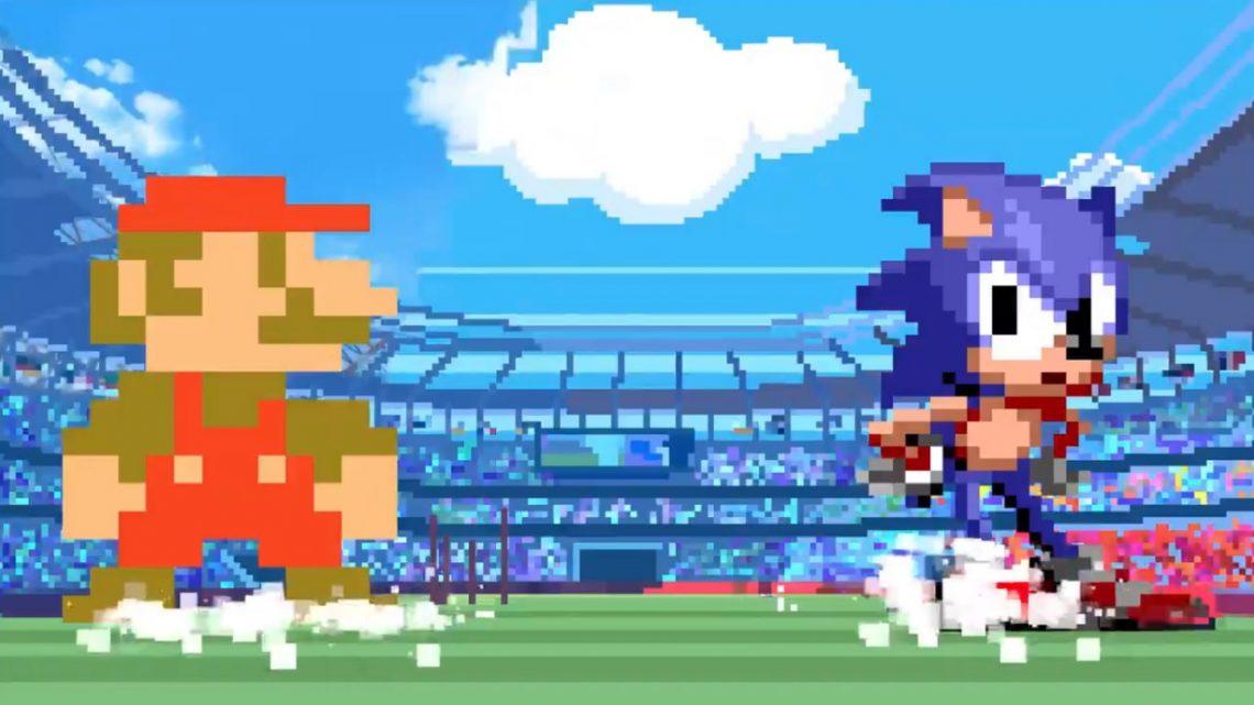 Mario & Sonic at the Olympic Games Tokyo 2020 – Desenvolvedores explicam porque nos eventos em retrô Mario é em 8-bit e Sonic em 16-bit