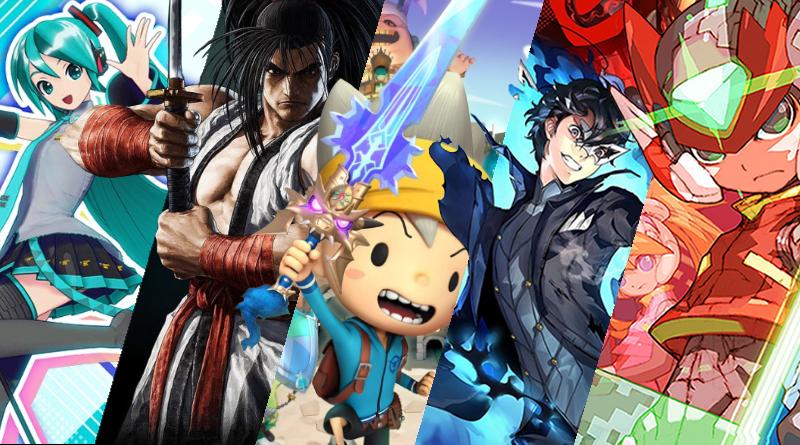 Lançamentos em mídia física para o Nintendo Switch no mês de Fevereiro