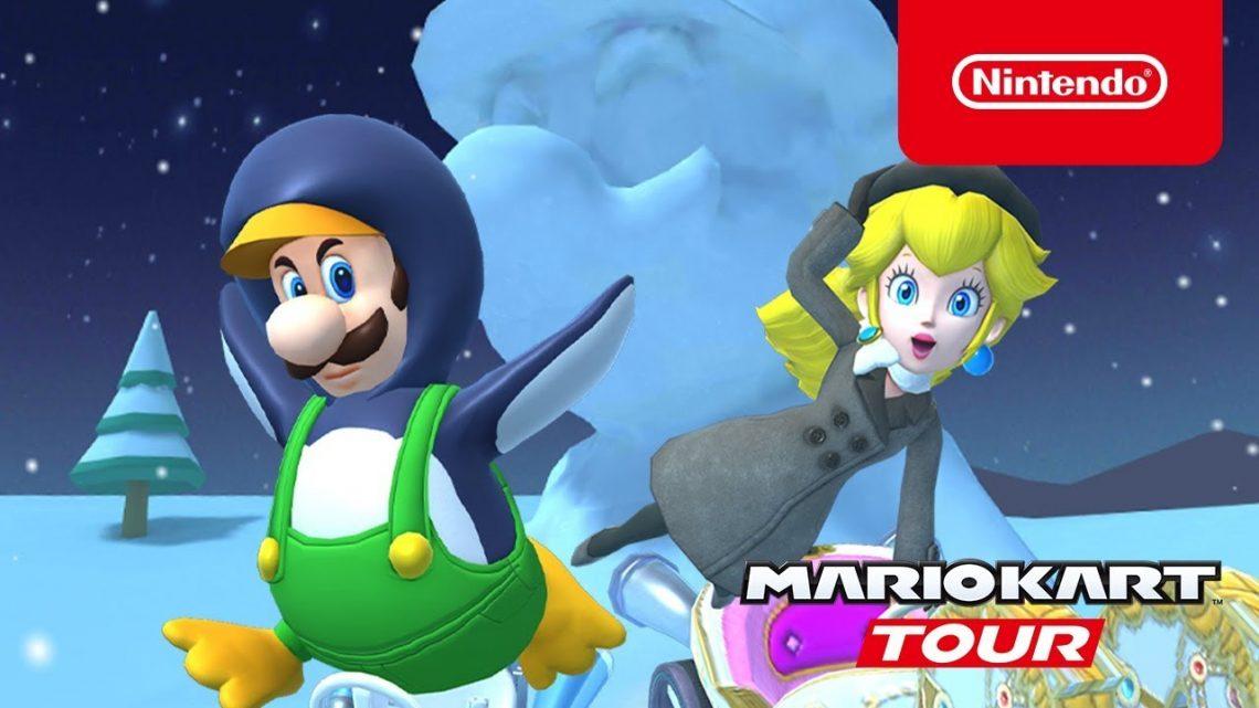 [Mobile] Mario Kart Tour – Novo trailer para a Ice Tour