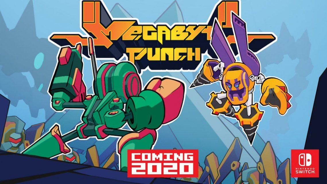 Team Reptile, de Lethal League Blaze, anuncia o jogo de luta/Beat'em up Megabyte Punch para o Nintendo Switch