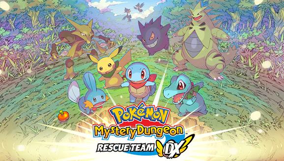 Jogos em formato físico da semana – Pokémon Mystery Dungeon: Rescue Team DX e Doraemon Nobita's New Dinosaur
