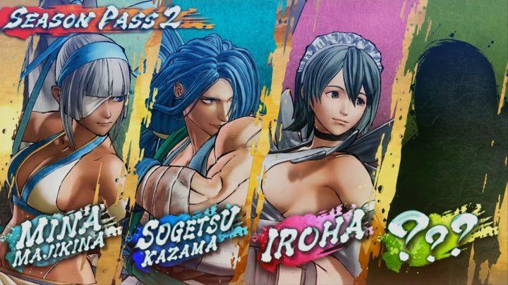 SNK anuncia a Season Pass 2 para Samurai Shodown com Mina Majikikina, Sogetsu, Iroha e um personagem misterioso