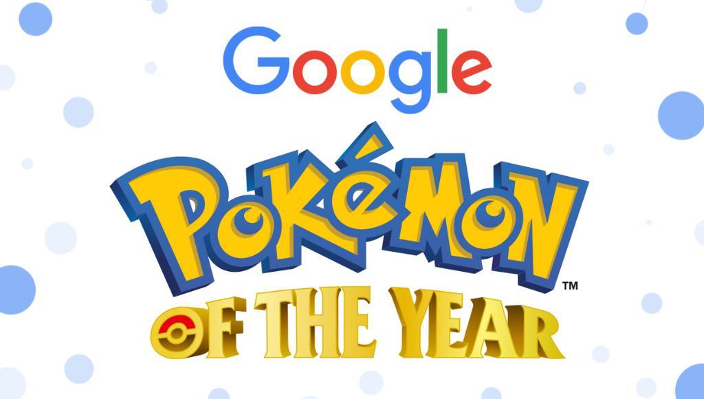 Pokémon of the Year – Vote no seu Pokémon favorito através do Google