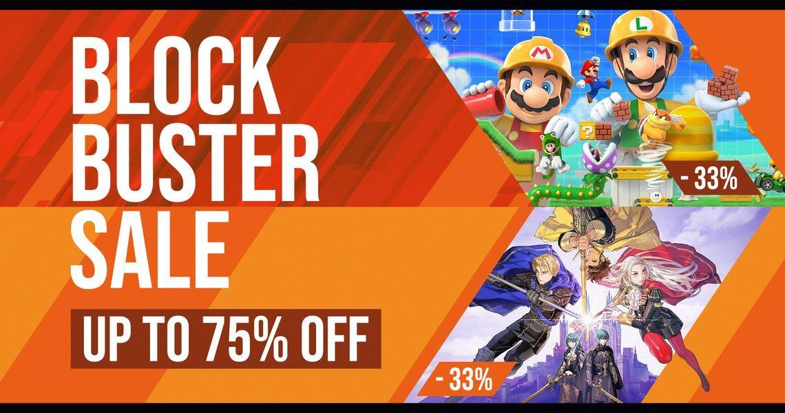 Blockbuster Sale – Até 75% de desconto na eShop em jogos como Fire Emblem: Three Houses, Super Mario Maker 2, Mortal Kombat 11, Xenoblade Chronicles 2  e muito mais