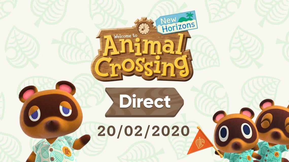 Nintendo anuncia Animal Crossing: New Horizons Direct para esta quinta-feira