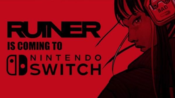 Devolver Digital anuncia o shooter de ação brutal Ruiner para o Nintendo Switch