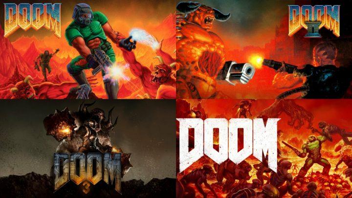 Jogos da série DOOM estão com até 70% de desconto na eShop do Nintendo Switch