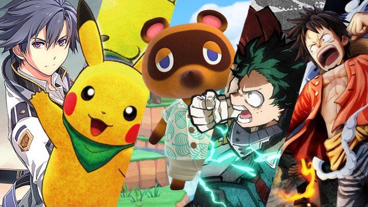 Lançamentos em mídia física para o Nintendo Switch no mês de Março