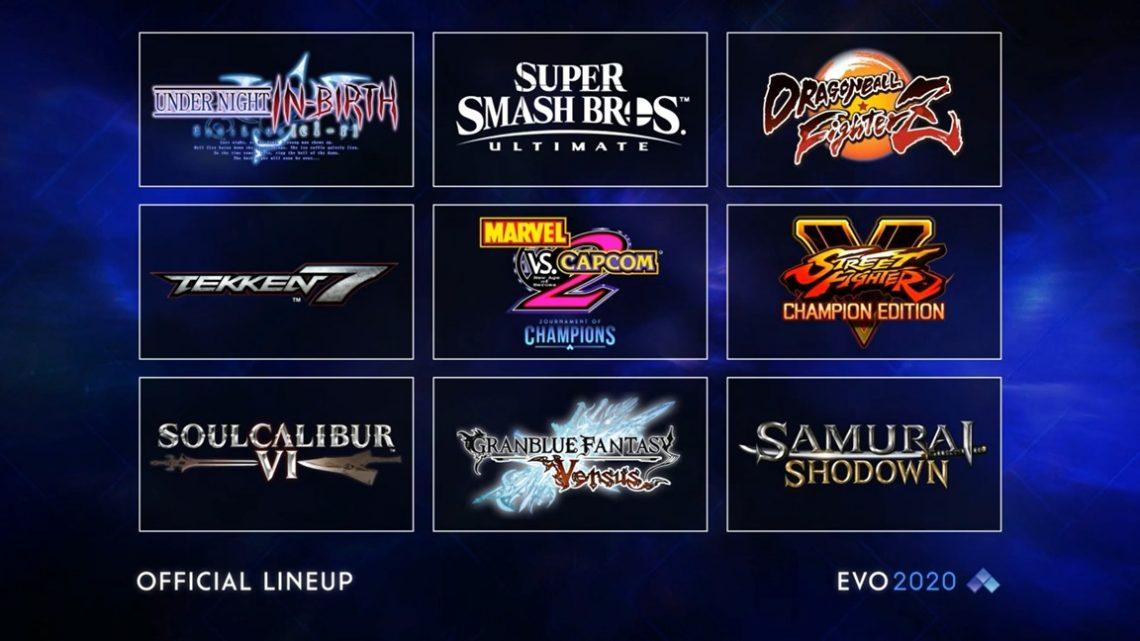 Evo 2020 – Revelado a lineup de jogos do evento
