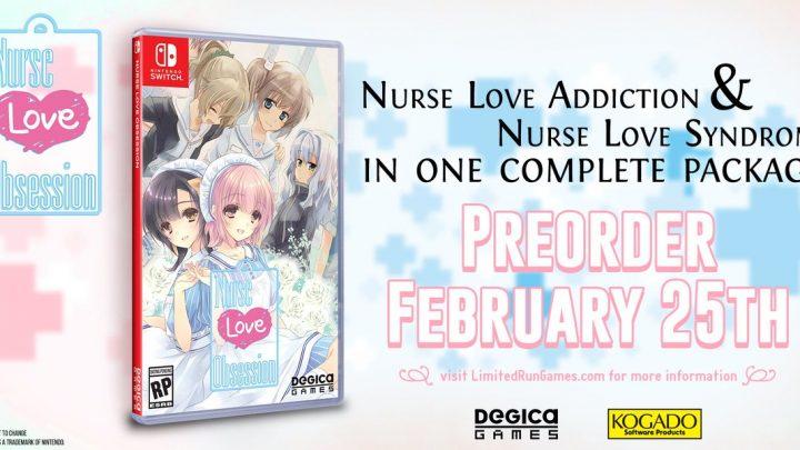 Nurse Love Obsession, coletânea com as duas visual novels da série, está ganhando edição física pela Limited Run Games