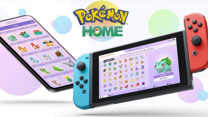 Pokémon Home já está disponível na eShop do Nintendo Switch e smartphones