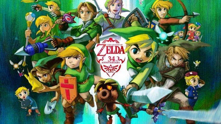Franquia The Legend of Zelda completou 34 anos