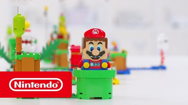 Nintendo anuncia nova linha de produtos LEGO Super Mario