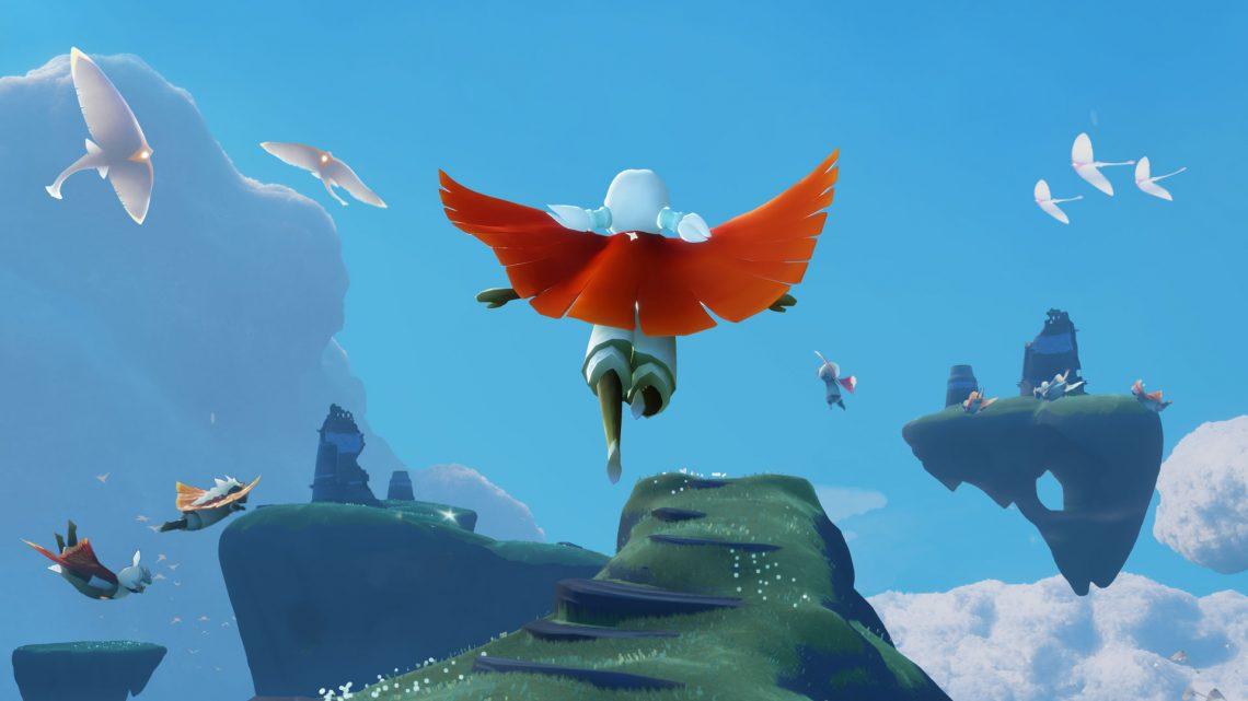 Sky: Children of the Light, dos criadores de Journey e Flower, está a caminho do Nintendo Switch