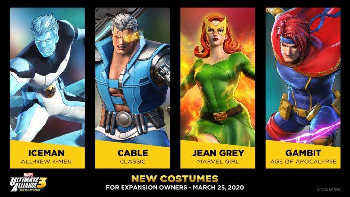 Marvel Ultimate Alliance 3: The Black Order – Revelado terceira leva de trajes gratuitos e trajes exclusivos para os donos do Expansion Pass