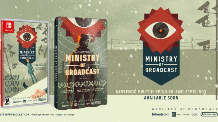 Edição física de Ministry of Broadcast é adiada para o mês de maio, lançamento digital no final de abril