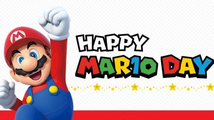 MAR10 DAY – Jogos da franquia Mario estão com 33% de desconto na eShop do Nintendo Switch
