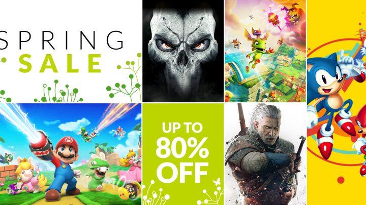 Spring Sale – Aproveite até 80% na eShop em The Witcher 3: Wild Hunt Complete Edition, Spyro Reignited Trilogy, Mario + Rabbids Kingdom Battle e muito mais