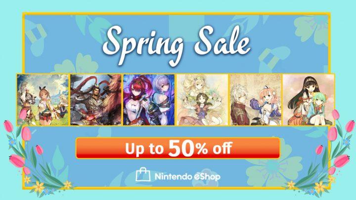 Koei Tecmo Spring Sale – Até 50% de desconto na eShop em jogos da série Atelier, Dynasty Warriors 8: Xtreme Legends Definitive Edition, e mais