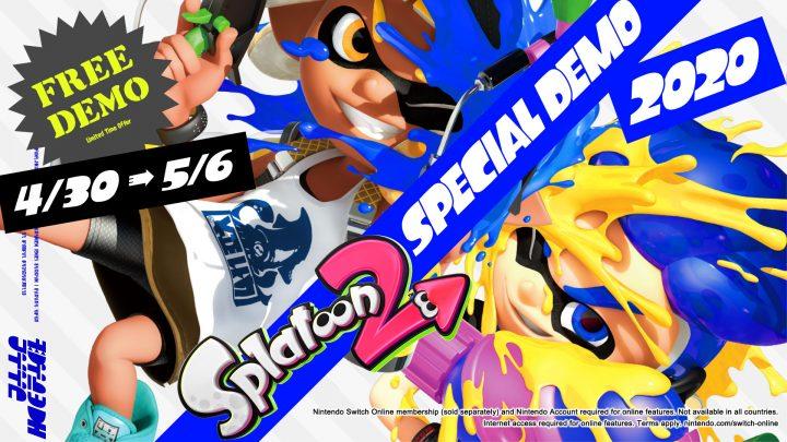 Nintendo anuncia demo especial gratuita para Splatoon 2 e o retorno do Splatfest Maionese vs Ketchup