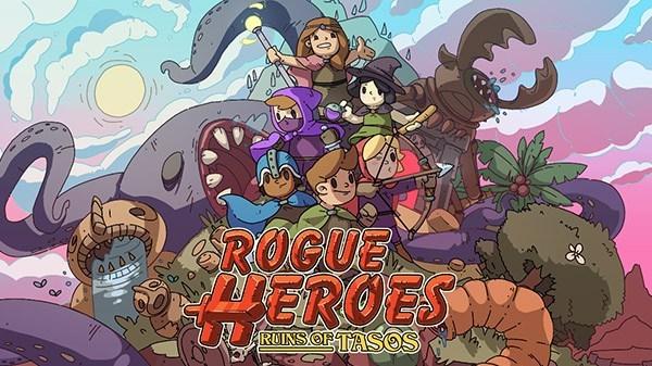 Team17 anuncia o roguelite cooperativo de quatro jogadores Rogue Heroes: Ruins of Tasos para o Nintendo Switch
