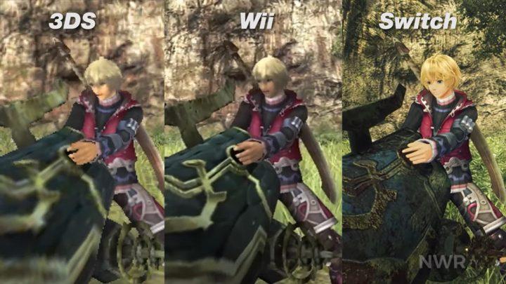 Xenoblade Chronicles: Definitive Edition – Vídeo com comparação gráfica entre as versões de Switch, Wii e New 3DS