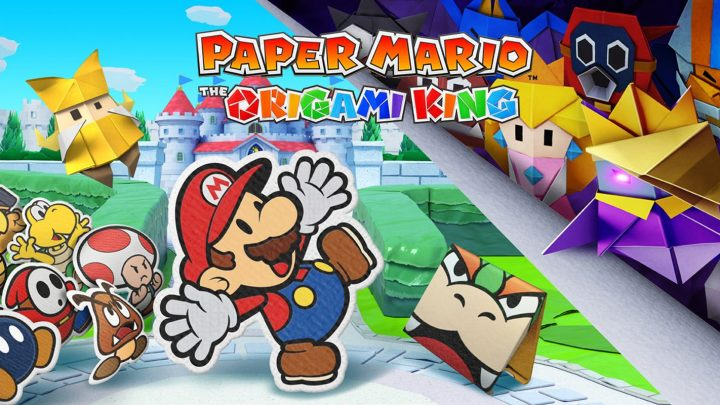 Nintendo anuncia Paper Mario: The Origami King para o Nintendo Switch