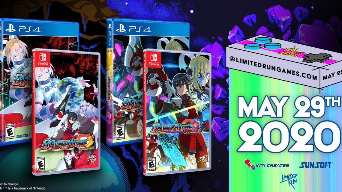 Blaster Master Zero e Blaster Master Zero 2 estão recebendo edição física na América do Norte pela Limited Run Games