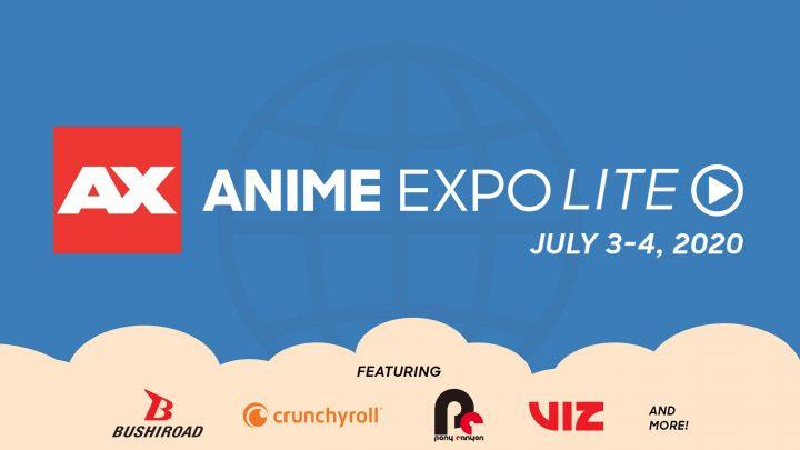 Evento digital Anime Expo Lite é anunciado para 3 e 4 de julho; Arte especial de The World Ends With You