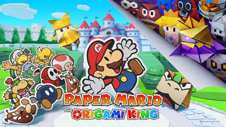 Paper Mario: The Origami King terá 100.000 cópias enviadas às varejistas da França em seu lançamento
