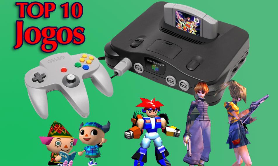 [Artigo] Top 10 jogos que você não sabia que o Nintendo 64 tem