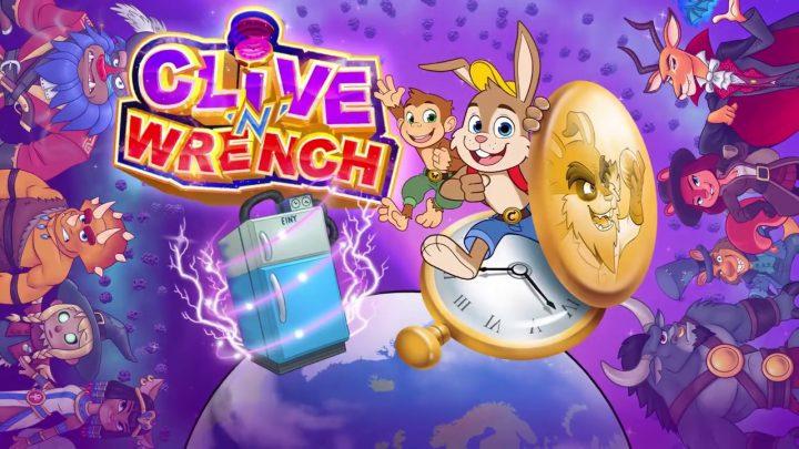 Jogo de plataforma 3D Clive 'N' Wrench terá edição física pela Numskull Games, novo trailer com gameplay